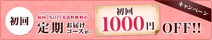 定期購入今なら1000円OFF